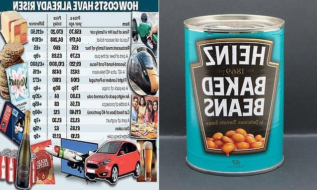 Now baked beans could be hit by price rises too!