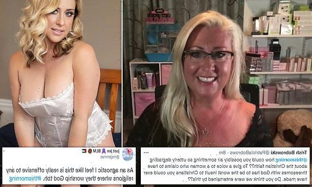 OnlyFans model who says God encourages her to strip online slammed