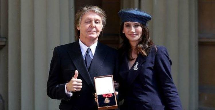 Paul celebrates milestone anniversary with wife Nancy