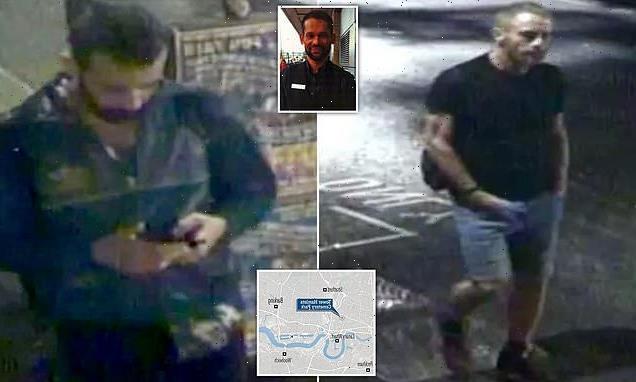Police offer £20,000 in hunt for 'homophobic' killer and issue CCTV