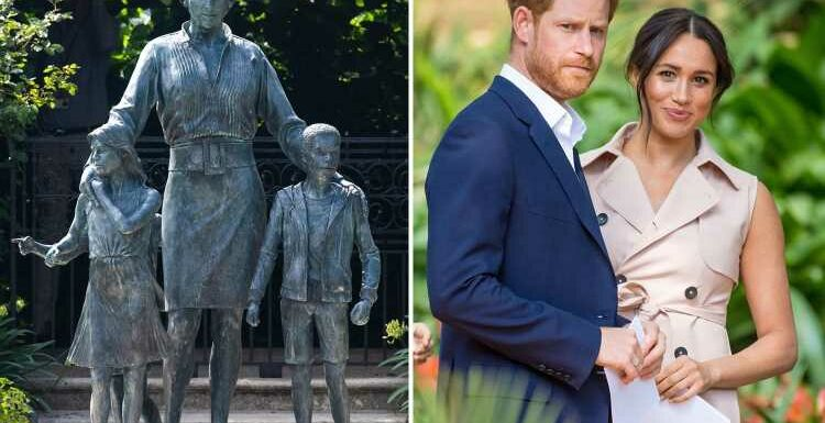 Prince Harry and Meghan Markle will NOT fly back to UK for Diana statue party this month, couple confirm
