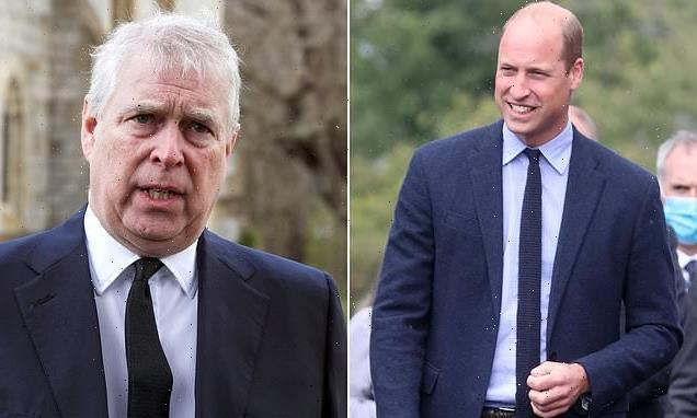 Prince William sees Andrew as a 'threat to the royal family'