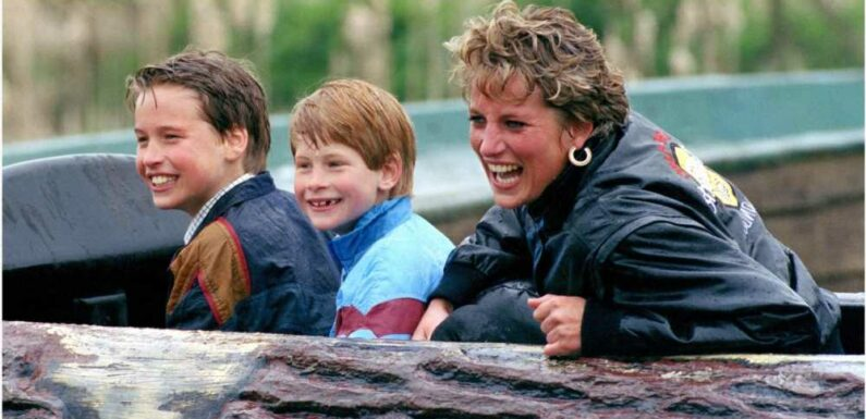 Princes William and Harry Were 'Bribed' by Princess Diana to Eat Healthily
