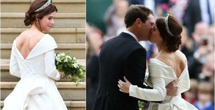 Princess Eugenies wedding dress broke royal protocol to change the way beauty is