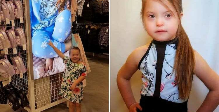 Proud girl, 7, with Down's syndrome is named new face of Primark