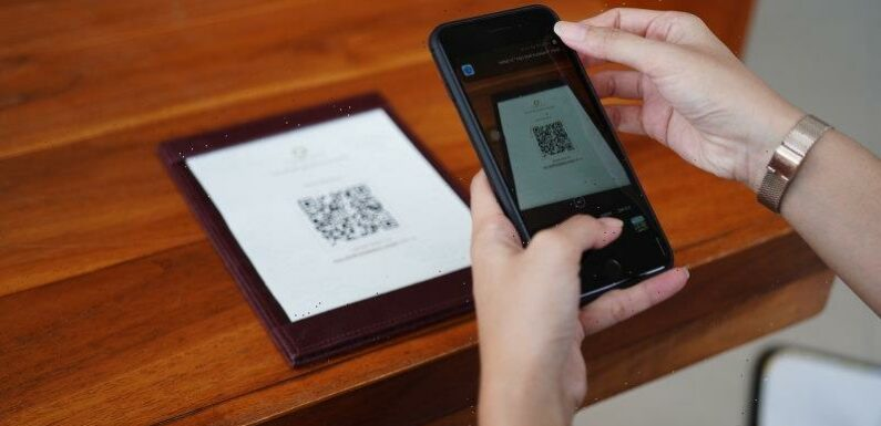 QR codes turn analog interactions into digital ones, stirring privacy fears