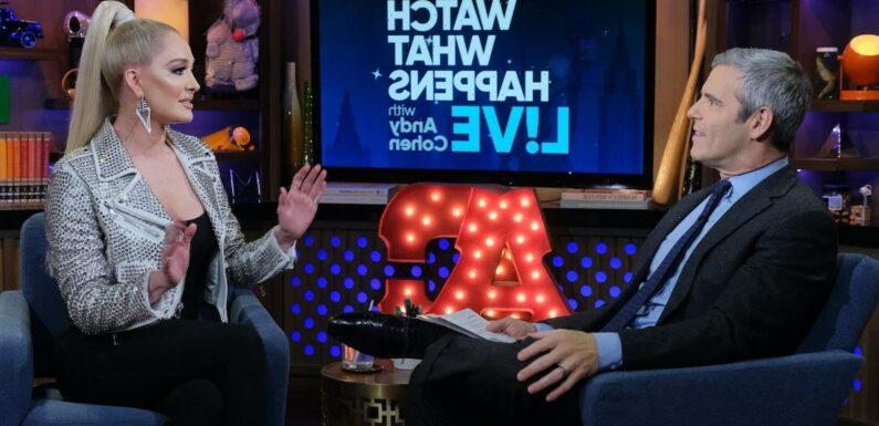 'RHOBH': Andy Cohen Once Grilled Erika Jayne About Her Spending Habits and the Clip Has Not Aged Well