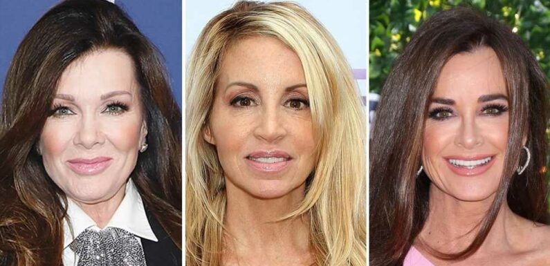 RHOBH's Kyle Richards Calls Camille, LVP's Tom Girardi Claims 'Calculated'