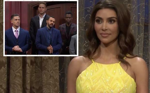 SNL: Kim Kardashian's Suitors Include Jesse Williams, John Cena, Chris Rock in Bachelorette Parody — Watch Video