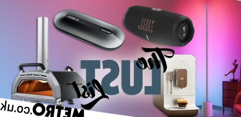 Smart lamps and coffee machines join our Lust List this week