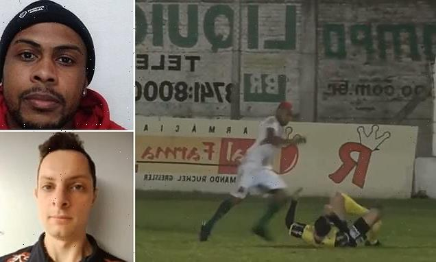 Soccer player faces ATTEMPTED MURDER charge for kicking referee