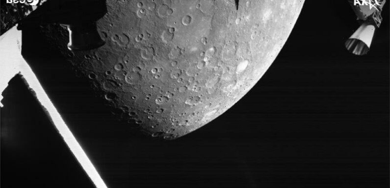 Spacecraft reveals rare images of Mercury after a 'flawless' flyby