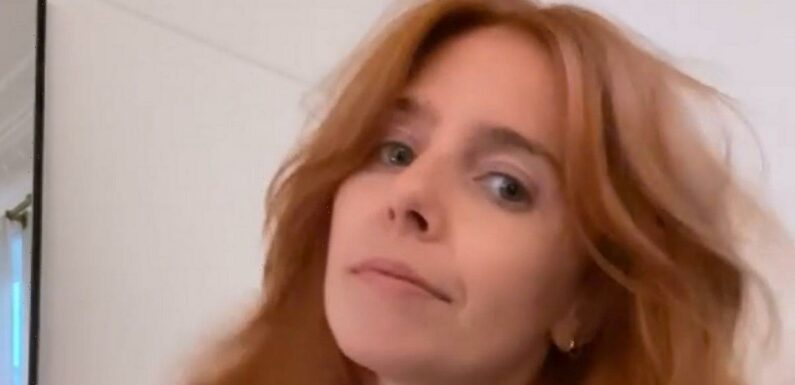 Stacey Dooley showcases very curly hairstyle in move away from signature look