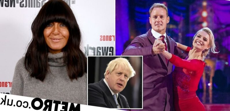 Strictly 2021: Claudia Winkleman makes cheeky jibe at Boris Johnson