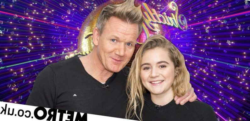 Strictly: Gordon Ramsay 'so proud' of Tilly after sobbing in audience
