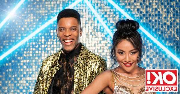 Strictly's Rhys Stephenson admits he almost put Nancy 'through the ceiling' during first lift