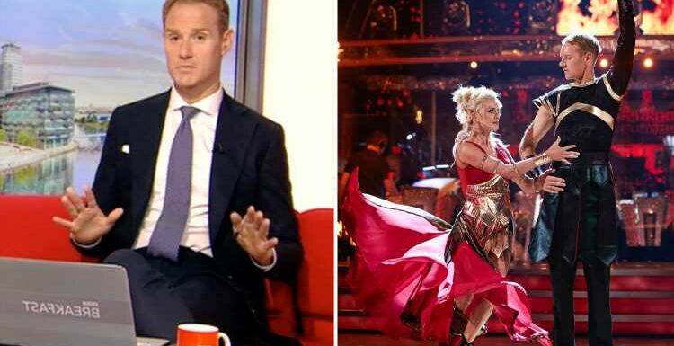 Strictly's Dan Walker reveals the real reason why he doesn't work Sundays