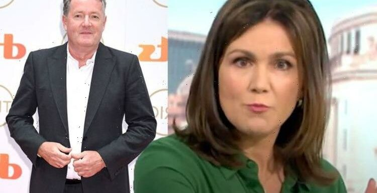 Susanna Reid admits she wanted to cry after ex co-host Piers Morgan's award show move