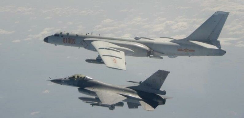 Taiwan deploys combat aircraft to meet China's largest ever 'military aggression'