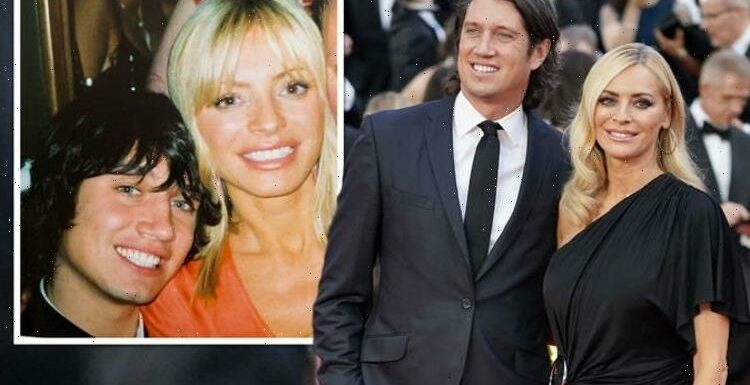 Tess Daly sparks frenzy with unearthed photo alongside husband Vernon Kay 'That you?'