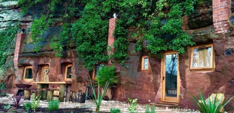 The one-of-a-kind cave house that left Grand Designs viewers stunned – and you can even stay in it
