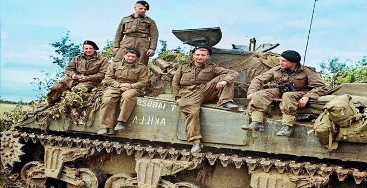 The story of the Sherwood Rangers, the British Band of Brothers