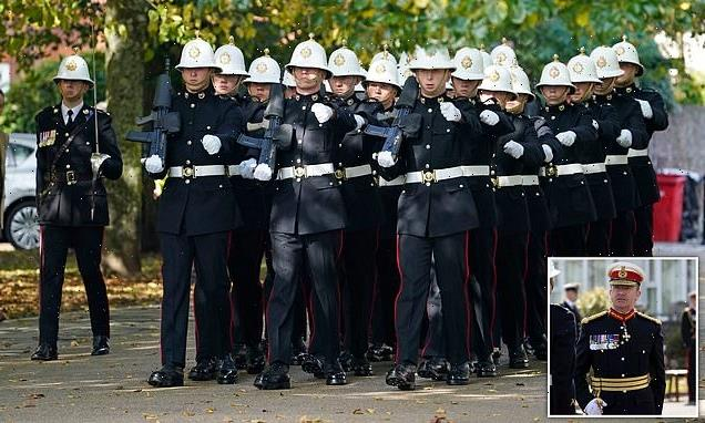 Top military officials gather for funeral of ex-Royal Marines general