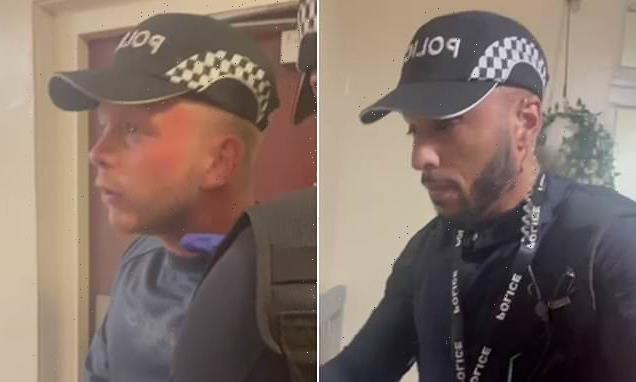 Two men 'impersonating police officers' try to enter woman's home