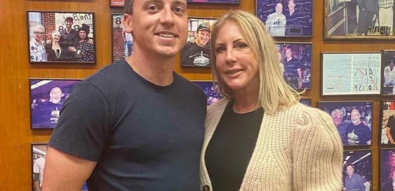 Vicki Gunvalson's son, Mike Wolfsmith, is on dating app Hinge