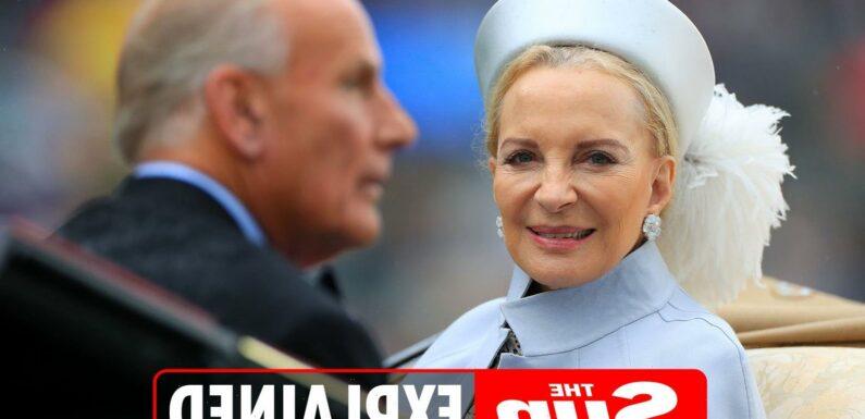 Who is Prince Michael of Kent's wife Princess Michael?