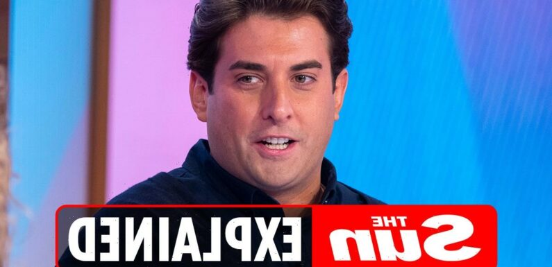 Why was James Argent axed from TOWIE?