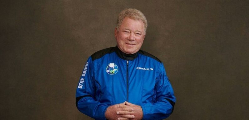 William Shatner 'terrified' of space flight ahead of launch today